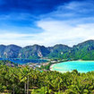 Holiday activities in Phi Phi -  enjoy the scenery in view point