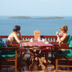 Enjoy the seaview with your friends at Bayview Resort, Samui Island