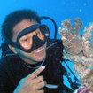 Divemasters are expected to spot and identify marine life