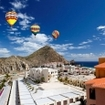 Hot air balloons in Cabo San Lucas, Baja Peninsula