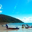 Sea canoeing at Cape Tribulation, Queensland, Australia