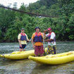 Kayak in Sabah on the Padas River