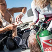 The PADI Rescue Diver course - diving first aid