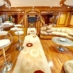 Red Sea liveaboard saloon