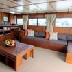 Mermaid II's upper deck saloon