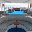 Royal Evolution's sun deck offers both shaded and ray catching options