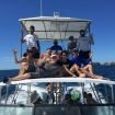 Day trip dive boat for Las Catalinas