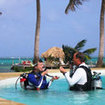 Learn to dive in Portofino Beach Resort, Ambergris Caye, Belize