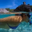 Snorkelling at Similan Island No. 9, Thailand