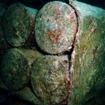 Stored bombs in the Red Sea's Thistelgorm