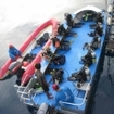 Seahorse has 3 motorised dive tenders for diving in West Papua