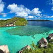 The setting of Misool Eco Resort, southern Raja Ampat