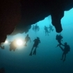 Diving at the Great Blue Hole