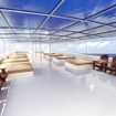 West Papua liveaboard Blue Manta's spacious and comfortable sundeck