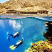 Experience the amazing scuba diving on offer at the Blue Hole, Red Sea