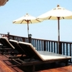 The sundeck of the liveaboard Diva Andaman