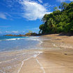 A beautiful beach in Caño Island, Costa Rica