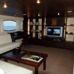 A liveaboard saloon in Phuket
