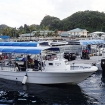 The Blue Marlin day trip boat in Koror
