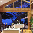 The restaurant of the Sau Bay Resort, Taveuni, Fiji