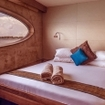Safari yacht guest accommodation