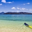 Snorkelling at Fitzroy Island, Queensland