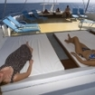 Enjoy the sundeck views of northern Maldives from MV Amba