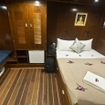 The Master cabin on the Giamani liveaboard