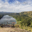 View of the Sigatoka river, the island of Viti Levu, Fiji