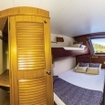 Deluxe twin/double cabin on the upper deck