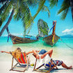 Enjoy the warmth of the sun near Phi Phi Island