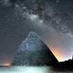 The incredible night sky at the Gebel Barkal Pyramids