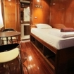 VIP guest cabin on diving safaris