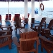 Covered upper deck and sun deck, Celebes Explorer