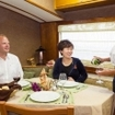 Enjoy table service during your Bahamas Aggressor liveaboard diving trips