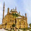 The great Mosque of Muhammad Ali Pasha in Cairo, Egypt