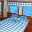 Deluxe cabin on board the MS Royal Evolution
