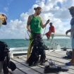 Get ready to dive in Ambergris Caye