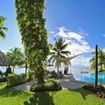 Beautiful lawns at Paradise Taveuni Resort, Fiji