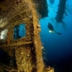 Diving the wrecks of Peleliu Island, southern Palau