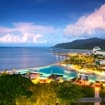 Cairns city by night, Queensland, Australia