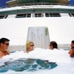 Sundeck whirlpool on this Cairns liveaboard