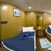 Standard cabin on the M/Y Excellence