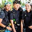 Make new friends on the PADI Rescue Diver course