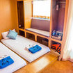 Diver accommodation on these cruises