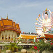 Holiday activities in Koh Samui -  visit Phra Yai Temple (Wat Phra Yai)