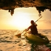 Sea kayaking in southern Thailand