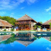 Pool area of the Nanuku Auberge Resort, Fiji
