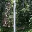 A waterfall in Camiguin