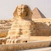 The Great Sphinx of Giza, near Cairo